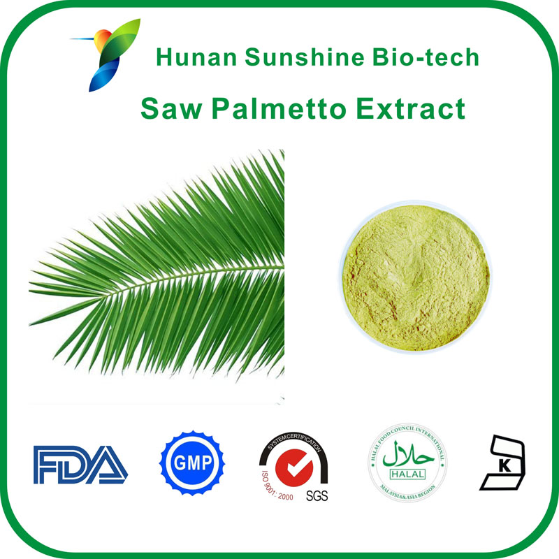25% 40% Unsaturated fatty acid GC,Saw palmetto extract,Unsaturated fatty acid GC