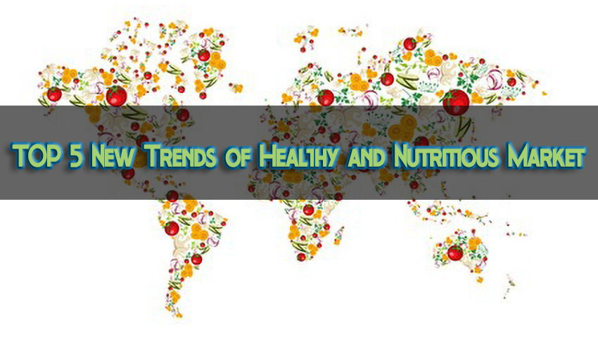 Health market, nutrition market, functional foods, sports nutrition, specialty foods